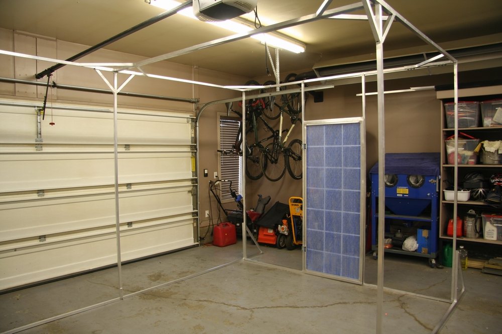 Collapsible Paint Booth Gordsgarage Blog