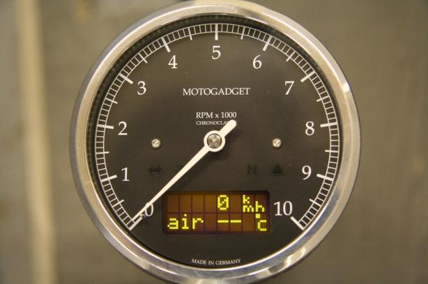 Motogadget air temp